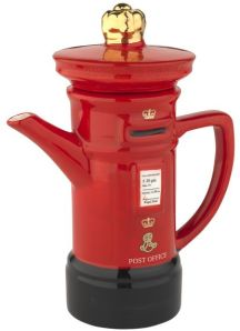 whittard postbox teapot