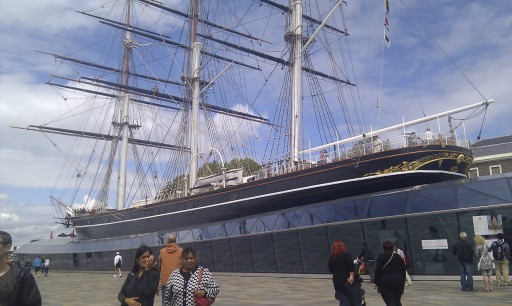The magnificent Cutty Sark