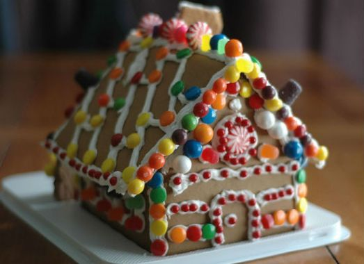 Gingerbread houses: perfect for Christmas. (Photo: Creative Commons | Carrie Stephens)